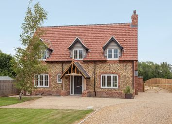 Thumbnail 4 bed detached house for sale in Hills Road, Saham Hills, Thetford