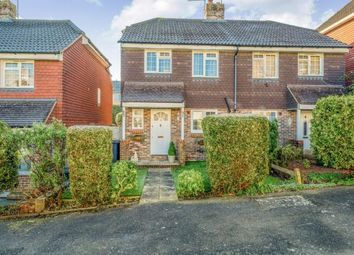 Thumbnail 3 bed semi-detached house for sale in Browns Path, Uckfield, East Sussex
