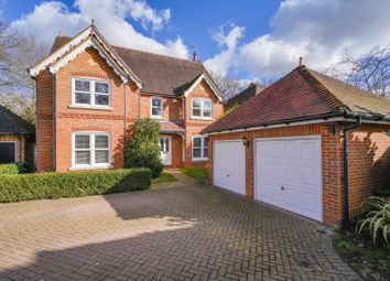 Thumbnail 5 bed detached house to rent in Little Moreton Close, West Byfleet, Surrey