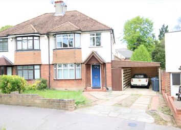 Thumbnail 3 bed semi-detached house for sale in Crossways, Selsdon