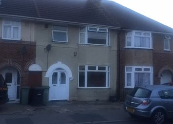 Thumbnail 3 bed terraced house to rent in St. Mildreds Avenue, Luton
