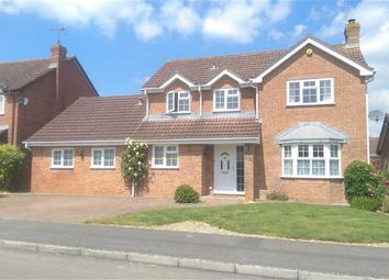 Thumbnail 4 bed detached house to rent in Standing Close, Swindon, Wiltshire