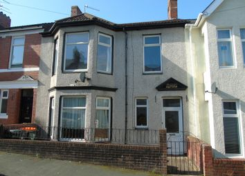 Thumbnail 4 bed terraced house for sale in Somerset Road, Newport