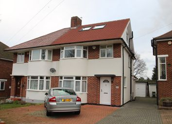 Thumbnail 4 bed semi-detached house to rent in Broadcroft Road, Petts Wood, Orpington