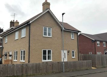 Thumbnail 2 bed semi-detached house for sale in Heron Way, Benwick, March
