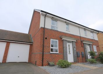 Thumbnail 3 bed semi-detached house to rent in Pipers View, Meir