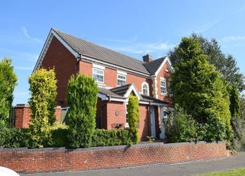 Thumbnail 4 bed detached house for sale in Burghley Way, Littleover, Derby