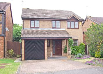 Thumbnail 4 bed detached house for sale in Humber Gardens, Wellingborough, Northamptonshire