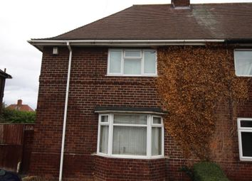 Thumbnail 3 bed semi-detached house to rent in Nuthall Road, Aspley, Nottingham