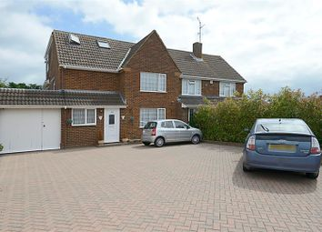 Thumbnail 5 bed semi-detached house for sale in Silverdale Road, Earley, Reading