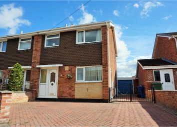 Thumbnail 3 bed semi-detached house for sale in Shaw Court, Doncaster