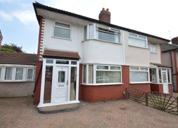 Thumbnail 4 bed semi-detached house for sale in Mossville Road, Mossley Hill, Liverpool