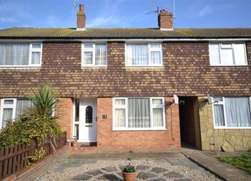 Thumbnail 3 bed terraced house for sale in Russell Close, Broadwater, Worthing, West Sussex