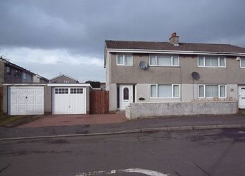 Thumbnail 3 bed semi-detached house to rent in Blairdenan Avenue, Moodiesburn, Glasgow