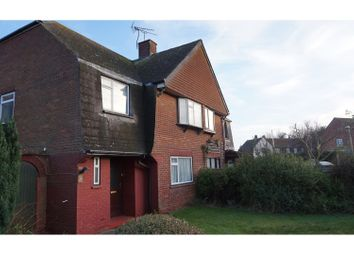 Thumbnail 3 bed semi-detached house for sale in Travers Road, Deal