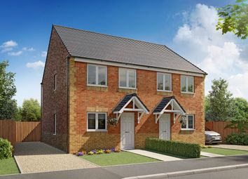 "Thumbnail 3 bed semi-detached house for sale in ""Tyrone"" at Sidings Road, Grimsby"
