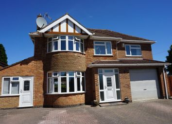 Thumbnail 5 bed detached house for sale in Englefield Road, Leicester