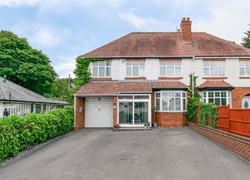 Thumbnail 4 bed semi-detached house for sale in Alvechurch Highway, Lydiate Ash, Bromsgrove