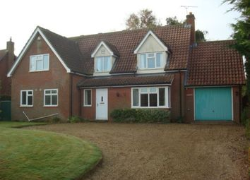 Thumbnail 3 bedroom detached house to rent in Main Road, Bucklesham, Ipswich