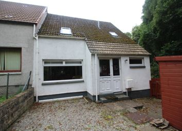 Thumbnail 4 bed end terrace house for sale in West Drive, Dingwall