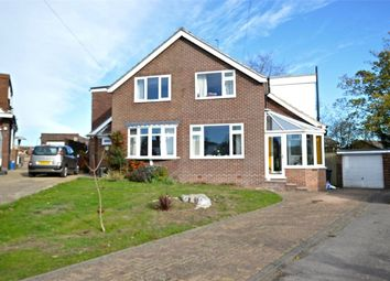 Thumbnail 4 bed semi-detached house for sale in Castle Mound, Barby, Rugby