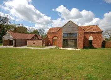 Thumbnail 5 bed barn conversion for sale in Dereham Road, Ovington