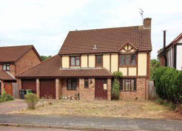 Thumbnail 4 bed detached house for sale in Pevensey Way, Frimley, Camberley