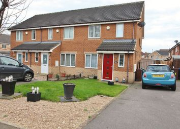 Thumbnail 3 bed terraced house for sale in Fernhall Croft, Wombwell, Barnsley