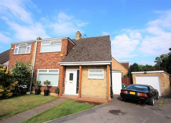Thumbnail 3 bed property for sale in Deridene Close, Stanwell, Staines-Upon-Thames, Surrey