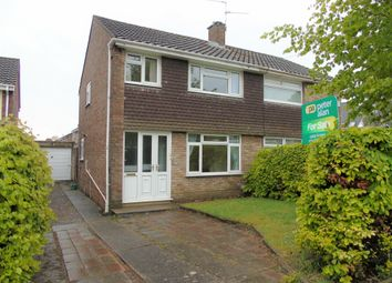 Thumbnail Semi-detached house for sale in Wordsworth Avenue, Penarth