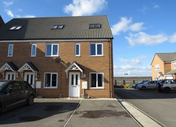 Thumbnail 3 bed end terrace house for sale in Ferrous Way, North Hykeham, Lincoln