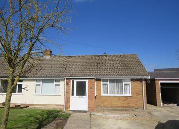 Thumbnail 2 bedroom bungalow to rent in Church Gardens, West Row, Bury St. Edmunds