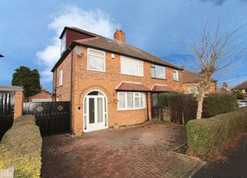 Thumbnail 4 bedroom semi-detached house for sale in Sydney Road, Wollaton, Nottingham
