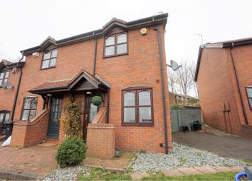 Thumbnail 2 bed end terrace house for sale in Rubens Close, Dudley