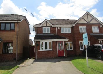 Thumbnail 4 bed semi-detached house for sale in Hart Close, Whetstone, Leicester
