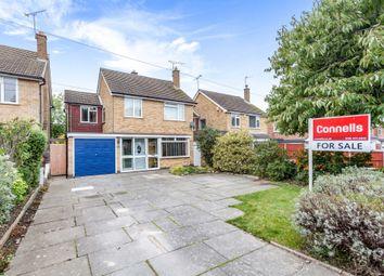 Thumbnail Detached house for sale in Estoril Avenue, Wigston