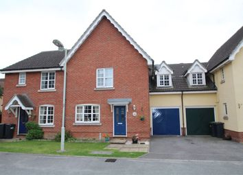Thumbnail 4 bedroom terraced house for sale in Nightingale Close, Stowmarket, Suffolk