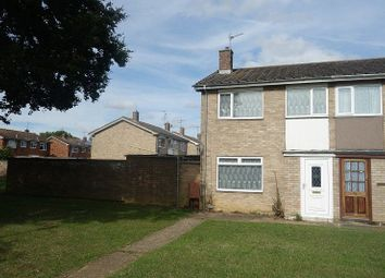 Thumbnail 2 bedroom semi-detached house for sale in Bradden Street, Peterborough, Cambridgeshire.