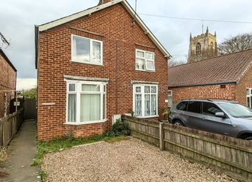 Thumbnail 3 bed semi-detached house for sale in Church Street, Pinchbeck, Spalding