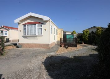 Thumbnail 1 bed mobile/park home for sale in Cerne Villa Park, Chickerell Road, Chickerell, Weymouth