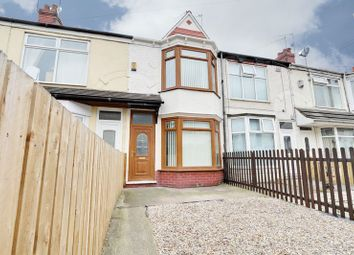 Thumbnail 2 bedroom terraced house for sale in Jesmond Gardens, Hull