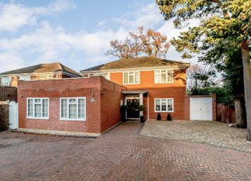 Thumbnail 4 bed detached house for sale in Oatlands Chase, Weybridge