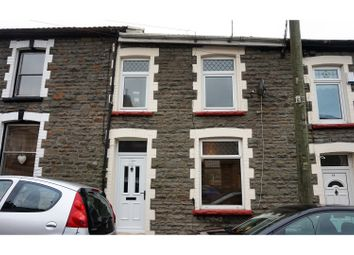 Thumbnail 3 bed terraced house for sale in Amos Hill, Tonypandy