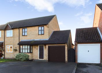 Thumbnail 3 bed semi-detached house for sale in Elmswell, Bury St Edmunds, Suffolk