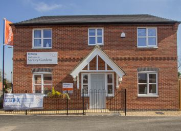 Thumbnail 4 bedroom detached house for sale in Victory Gardens, Fleckney, Leicester