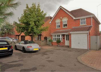 Thumbnail 4 bed detached house for sale in Fallow Close, Broughton Astley. Leicester