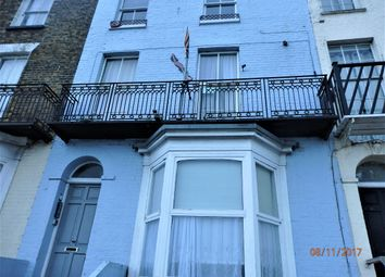 Thumbnail 1 bed flat to rent in Fort Crescent, Margate