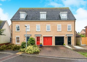 Thumbnail 3 bed terraced house for sale in Windsor Park Gardens, Sprowston, Norwich