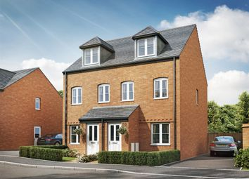 "Thumbnail 3 bed semi-detached house for sale in ""The Souter"" at Cranford Road, Kettering"