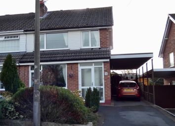Thumbnail 4 bed semi-detached house for sale in Henbury Drive, Woodley, Stockport